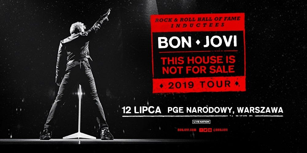 Bon Jovi in Poland – another ticket pre-sale launches for Citi Handlowy clients!