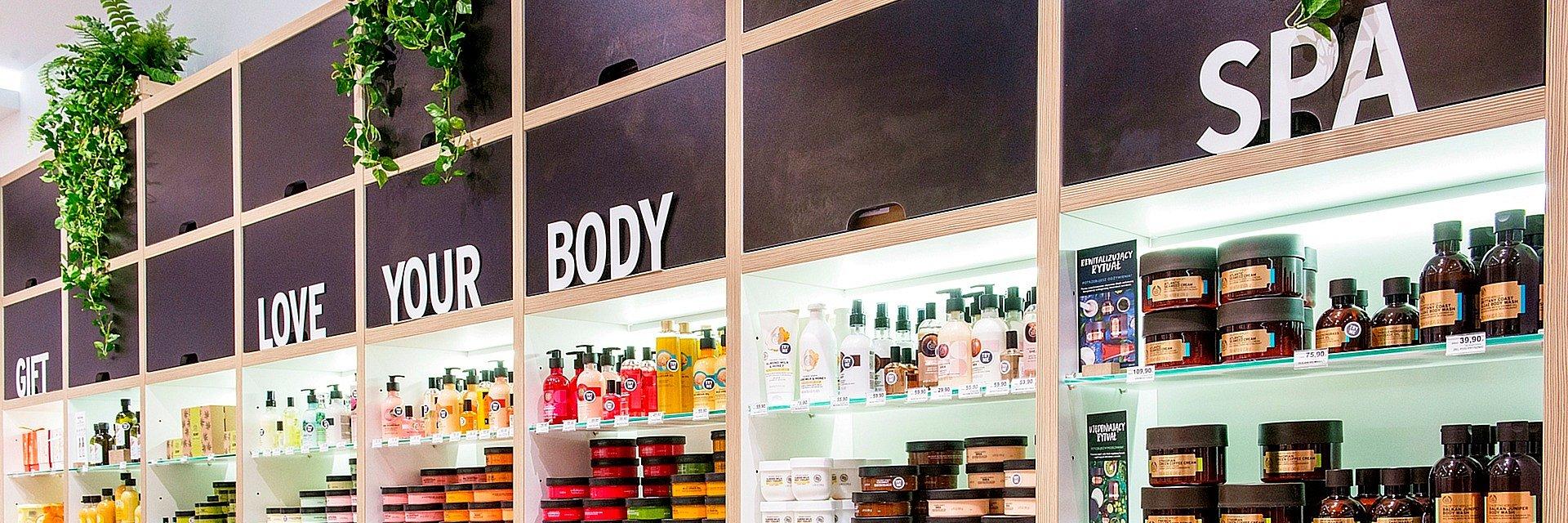 The Body Shop w Galerii Krakowskiej