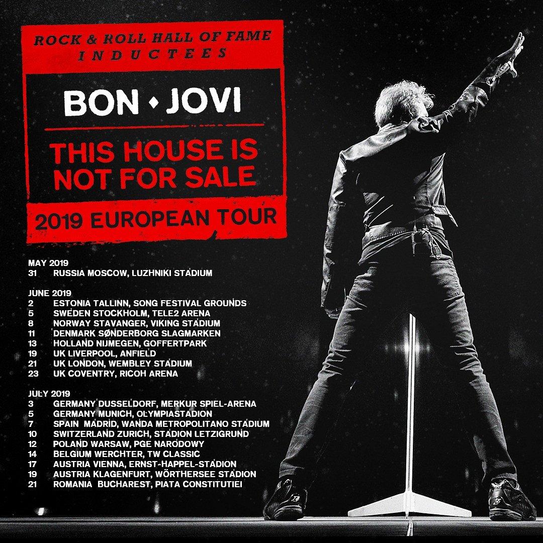 Bon Jovi wracają do Polski! Koncert w 2019