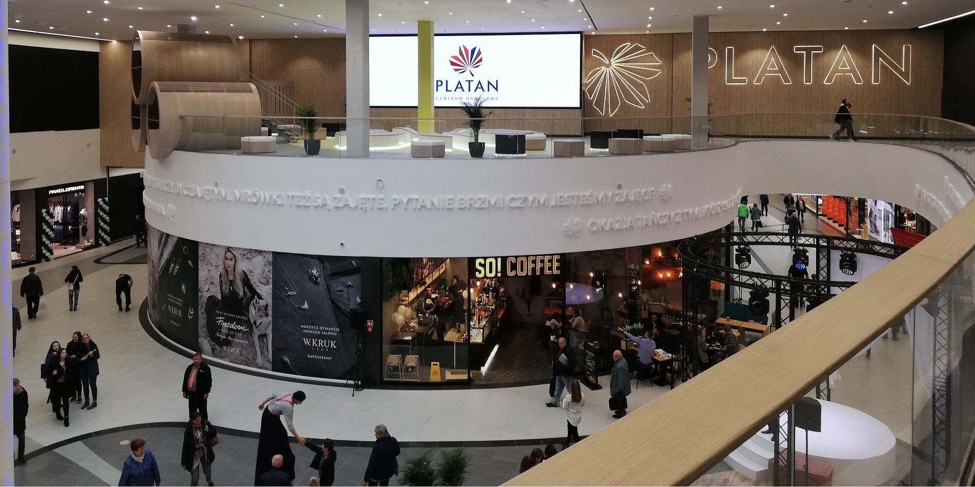 Zabrzańskie CH Platan: nowy pasaż już otwarty!