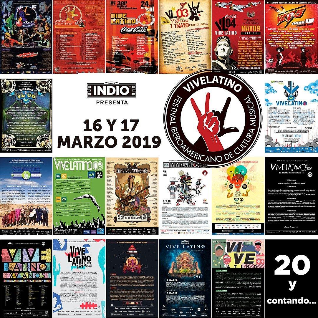 Venta para el fan leal - 20 Años Vive Latino
