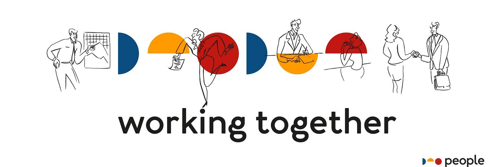 People - working together, nowe logo, strona www i strategia agencji doradztwa personalnego