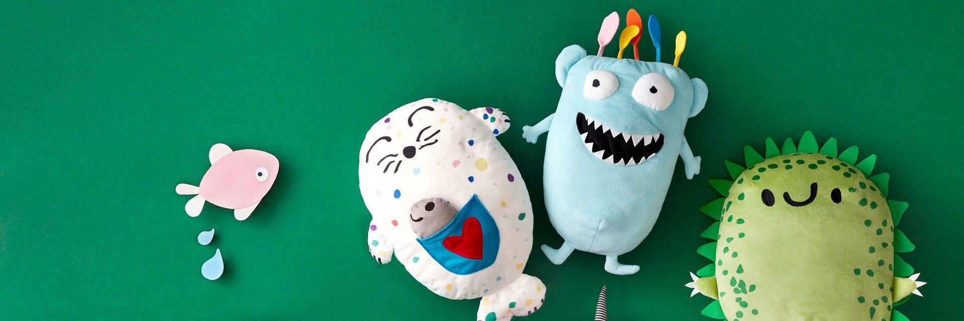 Zaprojektowana przez dzieci dla dzieci. Limitowana kolekcja IKEA SAGOSKATT po raz 5. wspiera prawo najmłodszych do zabawy oraz rozwoju.