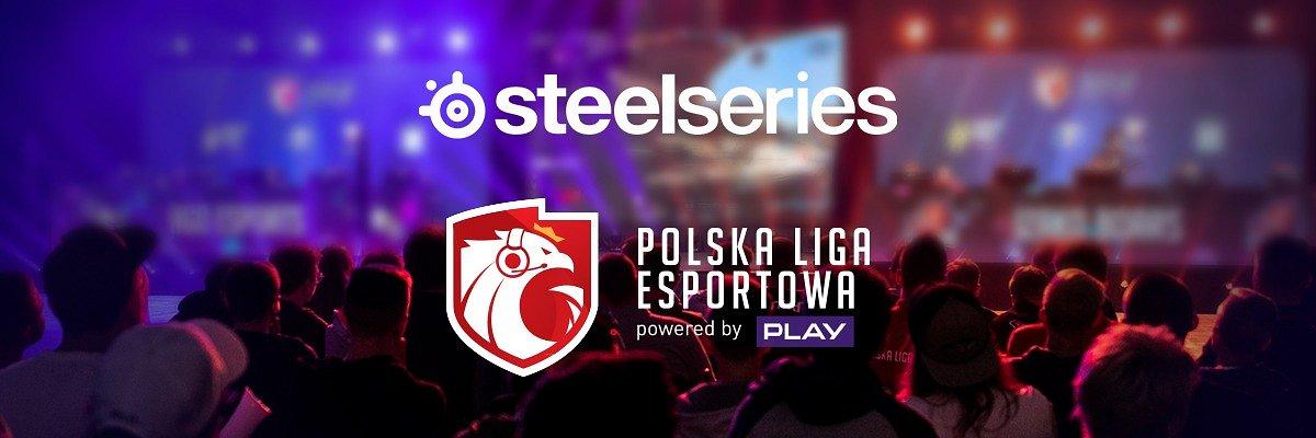 Inwestycja Polskiej Ligi Esportowej w młode talenty została wsparta przez SteelSeries