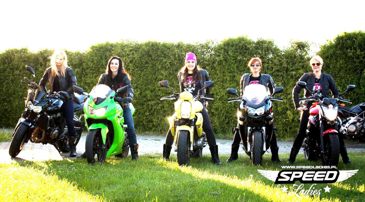 Kobiety na motocykle