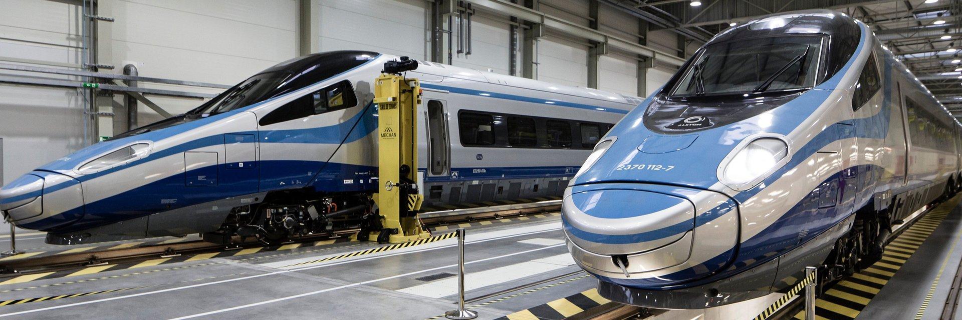 Alstom zakończył przegląd pociągów Pendolino dla PKP