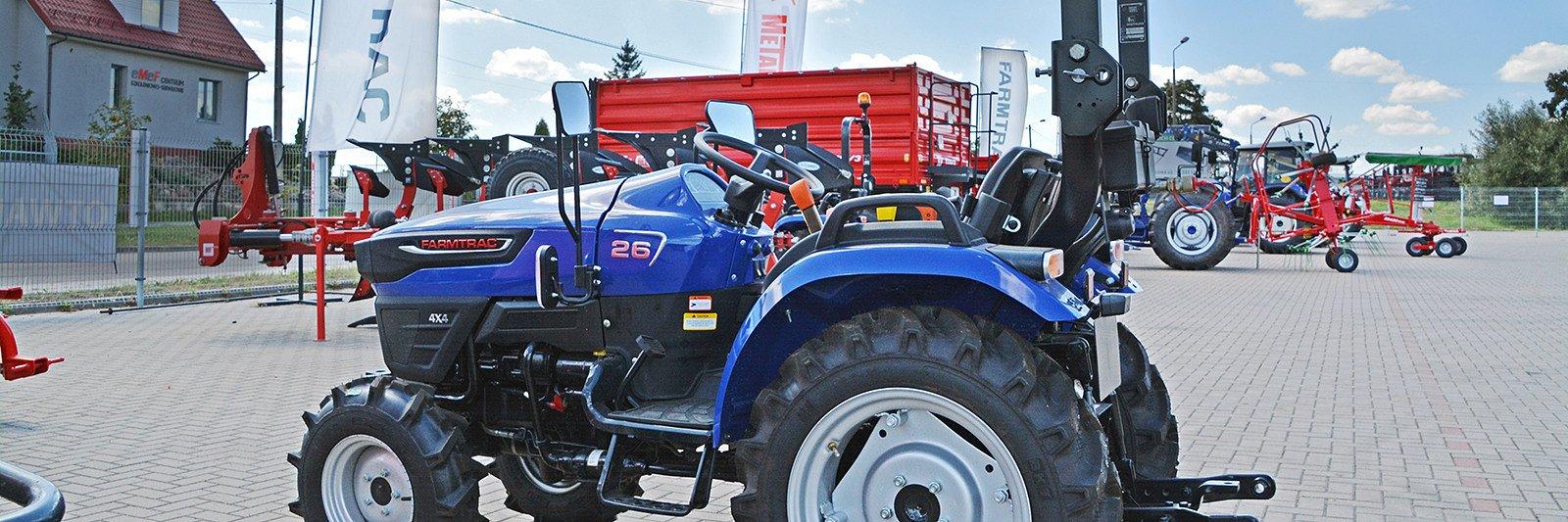 Ciągniki kompaktowe Farmtrac – nowość w ofercie sklepu rolniczego TwojaZagroda.pl