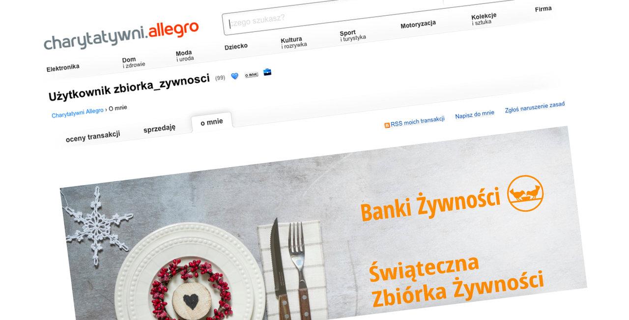 Świąteczna pomoc Banków Żywności