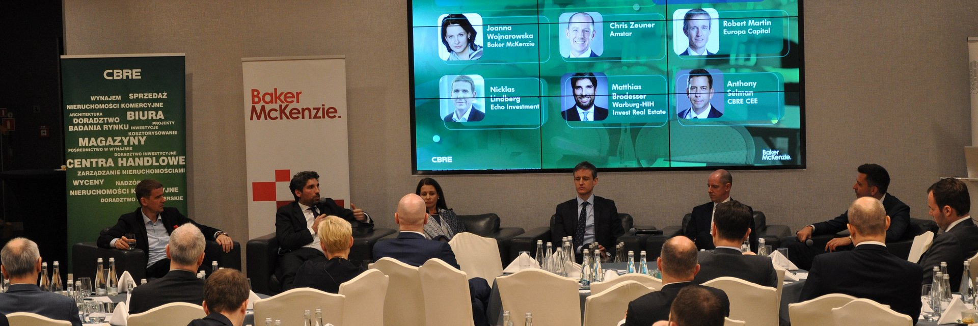 Investment Breakfast | CBRE & Baker McKenzie
