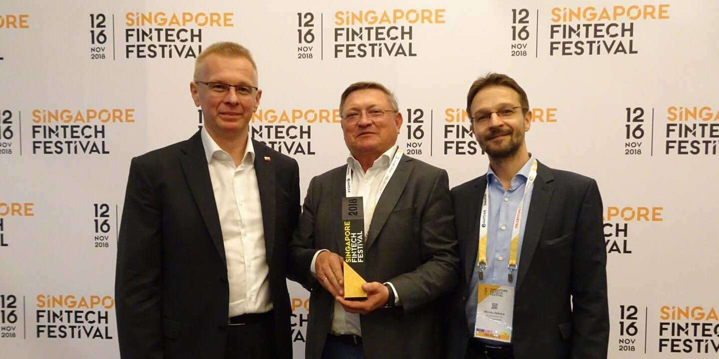 Billon is the winner at Singapore FinTech Festival!