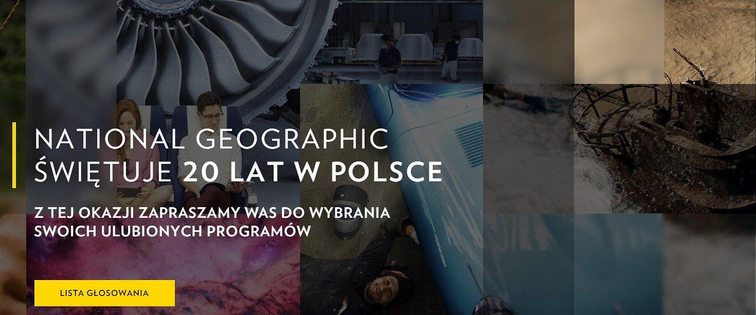 Kanał National Geographic świętuje 20 lat w Polsce! Z tej okazji… to widzowie ułożą ramówkę