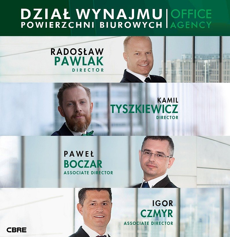 PROMOTIONS FOLLOWING THE DYNAMIC EXPANSION OF THE SCALE OF CBRE'S OFFICE AGENCY'S ACTIVITIES