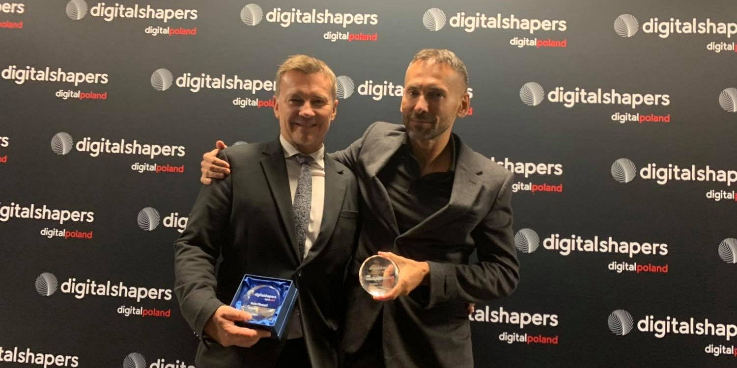 Digital Shapers 2018 awards – Tomasz Czechowicz one of the laureates in the Investor category