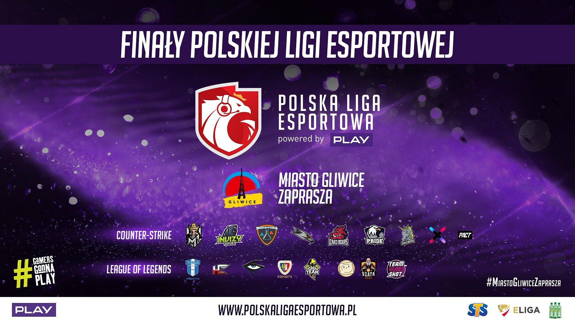 Finały sezonu Jesień 2018 Polskiej Ligi Esportowej na pięknej arenie w Gliwicach! Co zobaczymy w trakcie imprezy?