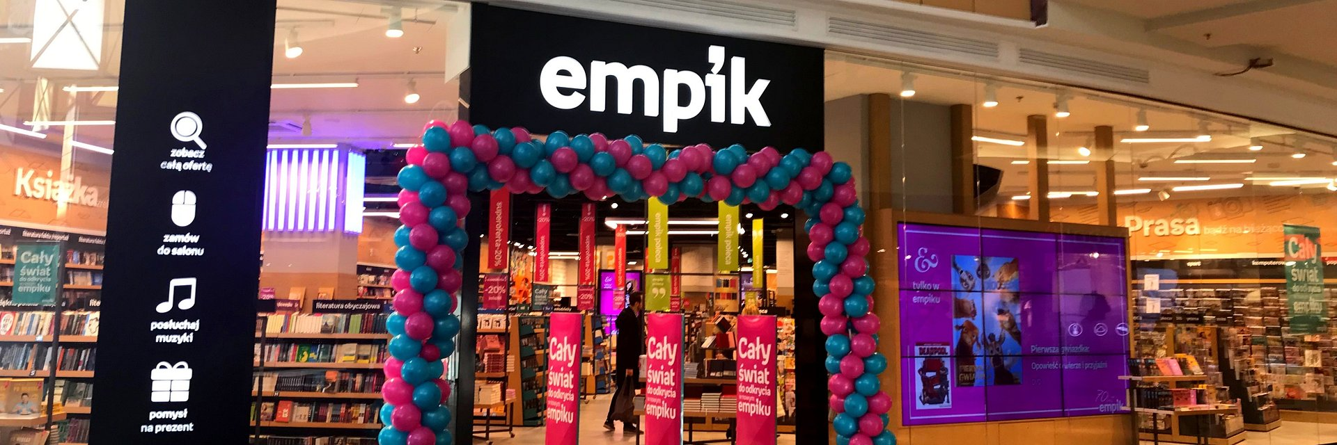 Empik Future Store w Silesia City Center