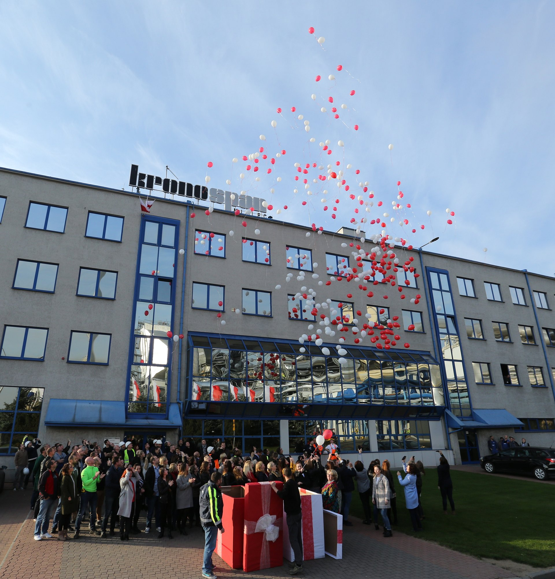 Balony na 100-lecie Niepodległości