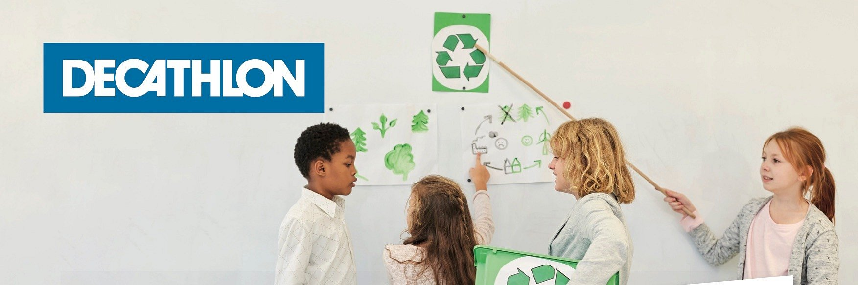 Decathlon w walce o czyste środowisko i lepszy klimat!