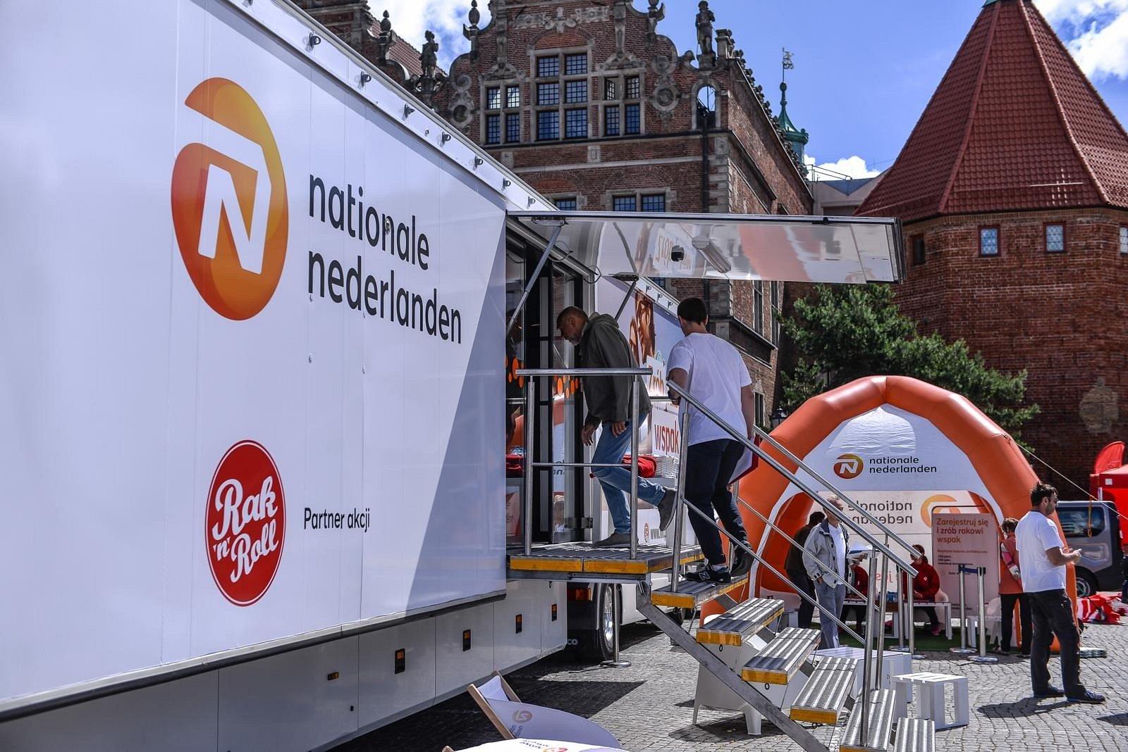 Bezpłatne badania Fundacji Rak'n'Roll i Nationale-Nederlanden na północy Polski