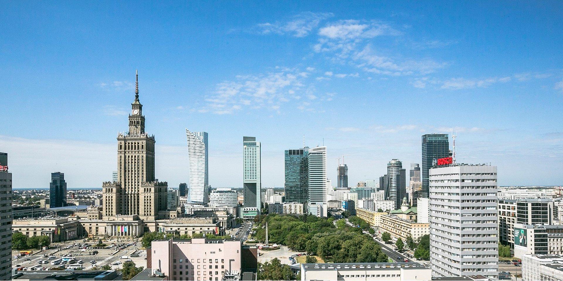 WARSZAWA JAK AMSTERDAM - stołeczny rynek biurowy przekracza 5 mln mkw