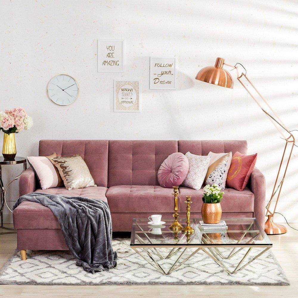 3 największe zalety sof w welurowym stylu