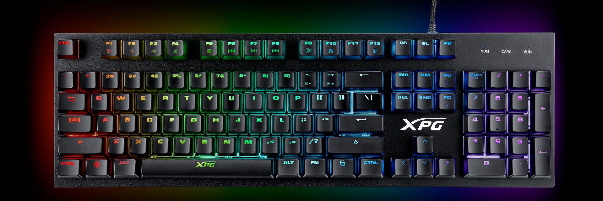 Nowy sprzęt dla graczy od ADATA z serii XPG - klawiatura INFAREX K10 oraz mysz INFAREX M20