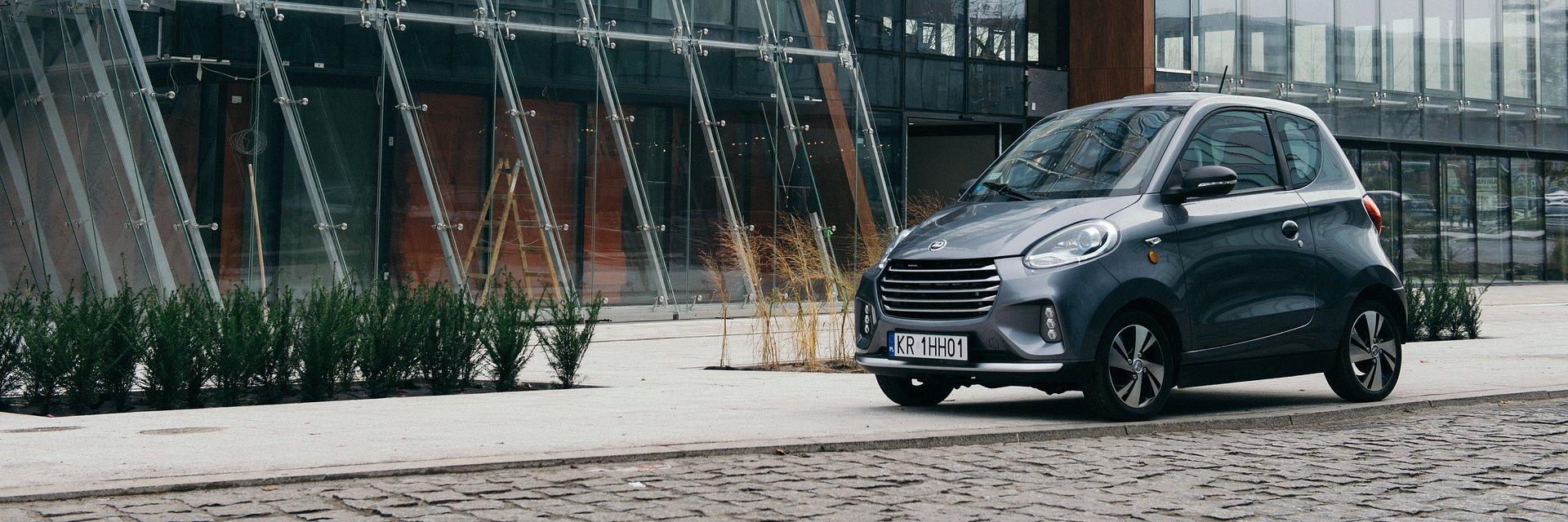 Bezcenny samochód na erę elektromobilności już w sprzedaży