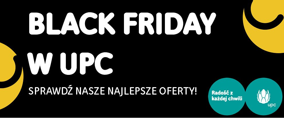 Black Friday w UPC