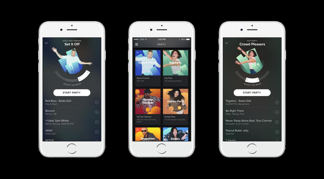 Spotify wprowadza usługę Spotify Party