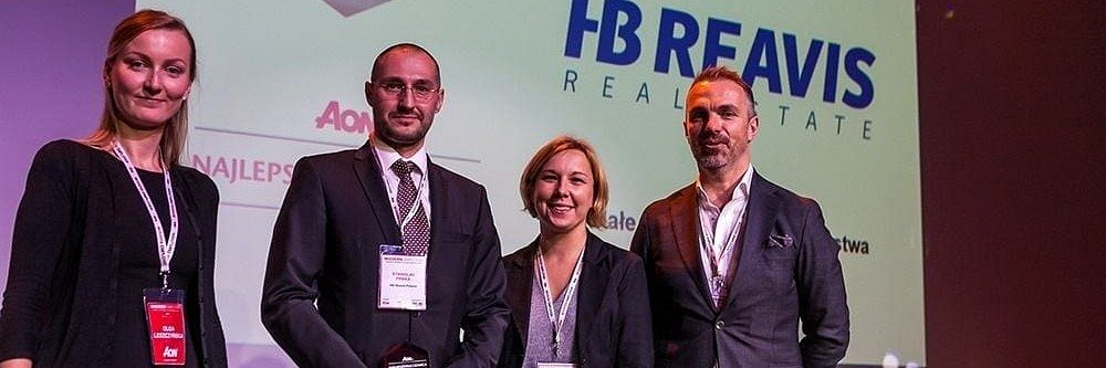 HB Reavis among Best Employers in Poland