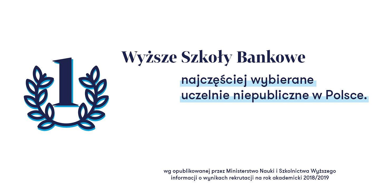 Wyższa Szkoła Bankowa – najczęściej wybierana niepubliczna uczelnia w Polsce