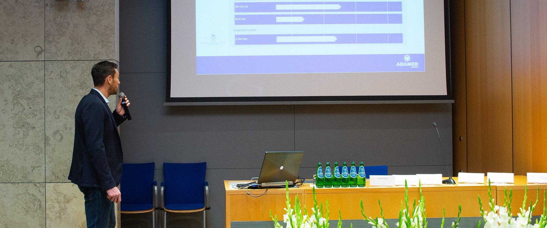 Adamed Na 3. Środokowoeuropejskim Kongresie Biomedycznym