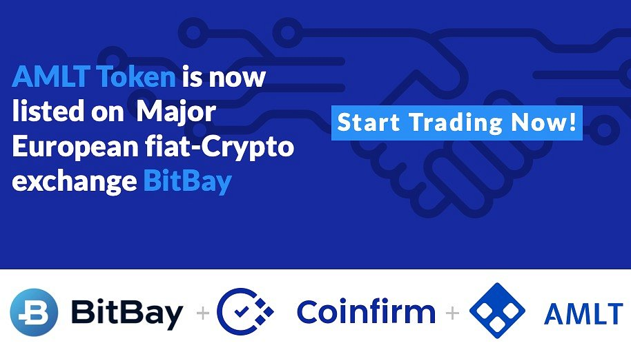 AMLT token by Coinfirm is now available at BitBay.net!