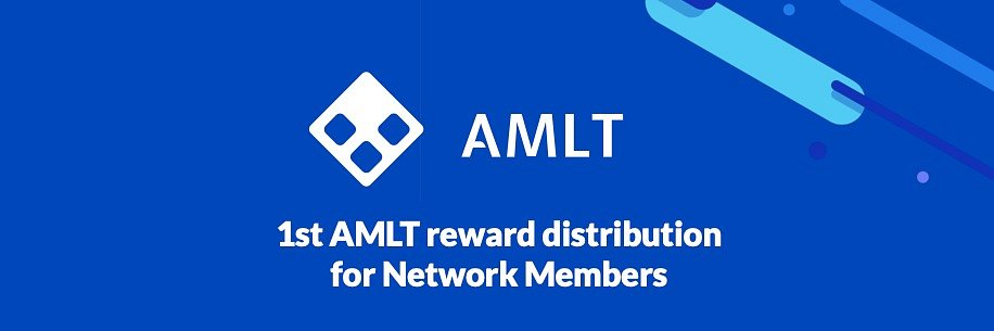 1st AMLT reward distribution for Network Members + Update on Membership Terms