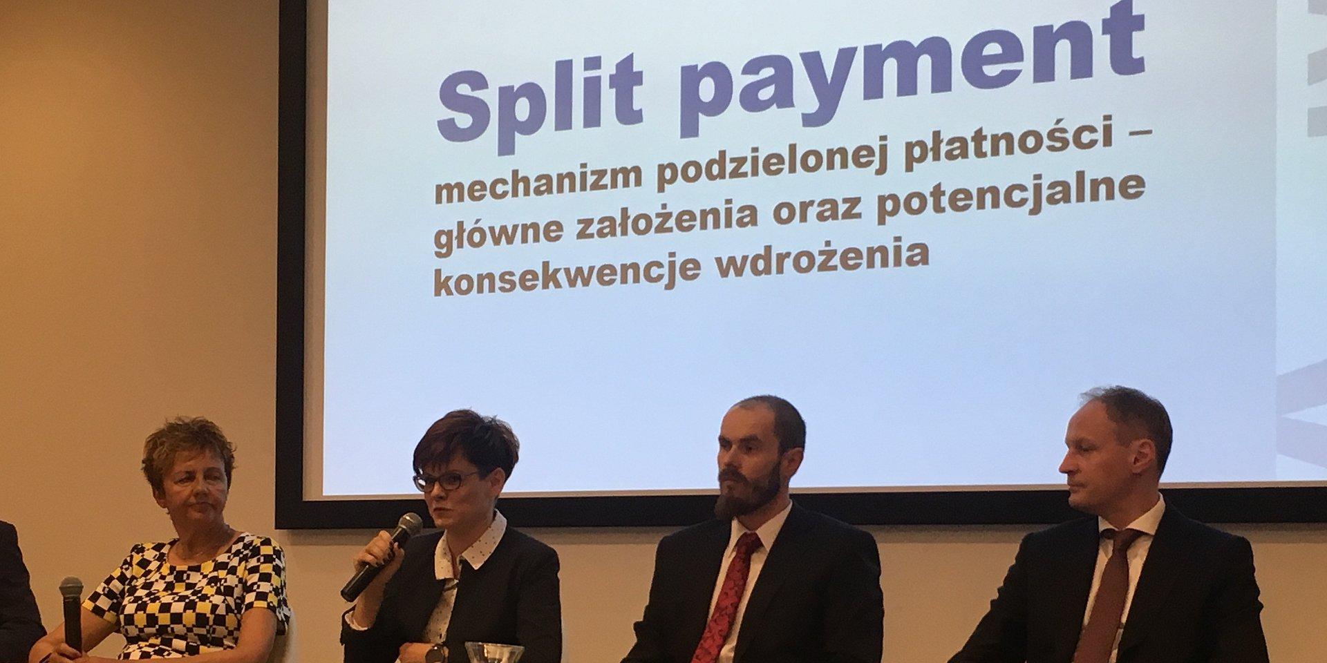 """Adamed Wziął Udział W Debacie """"Split Payment - Mechanizm Podzielonej Płatności - Główne Założenia Oraz Konsekwencje Wdrożenia"""""""