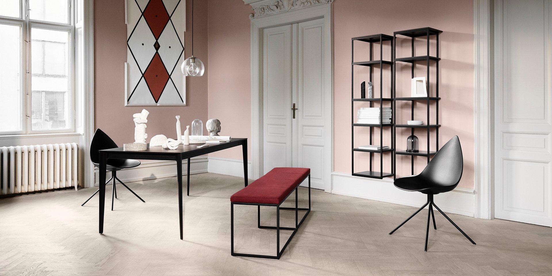 """Nowa ławka London w kolekcji BoConcept to kwintesencja duńskiej filozofii """"hygge"""""""