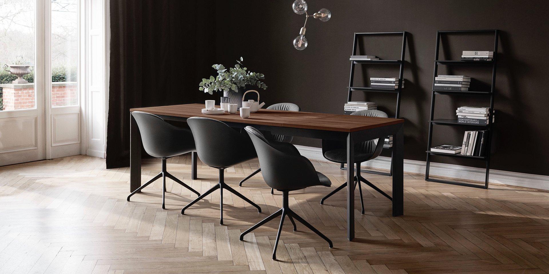 BoConcept przedstawia nowy rozkładany stół do jadalni Lyon