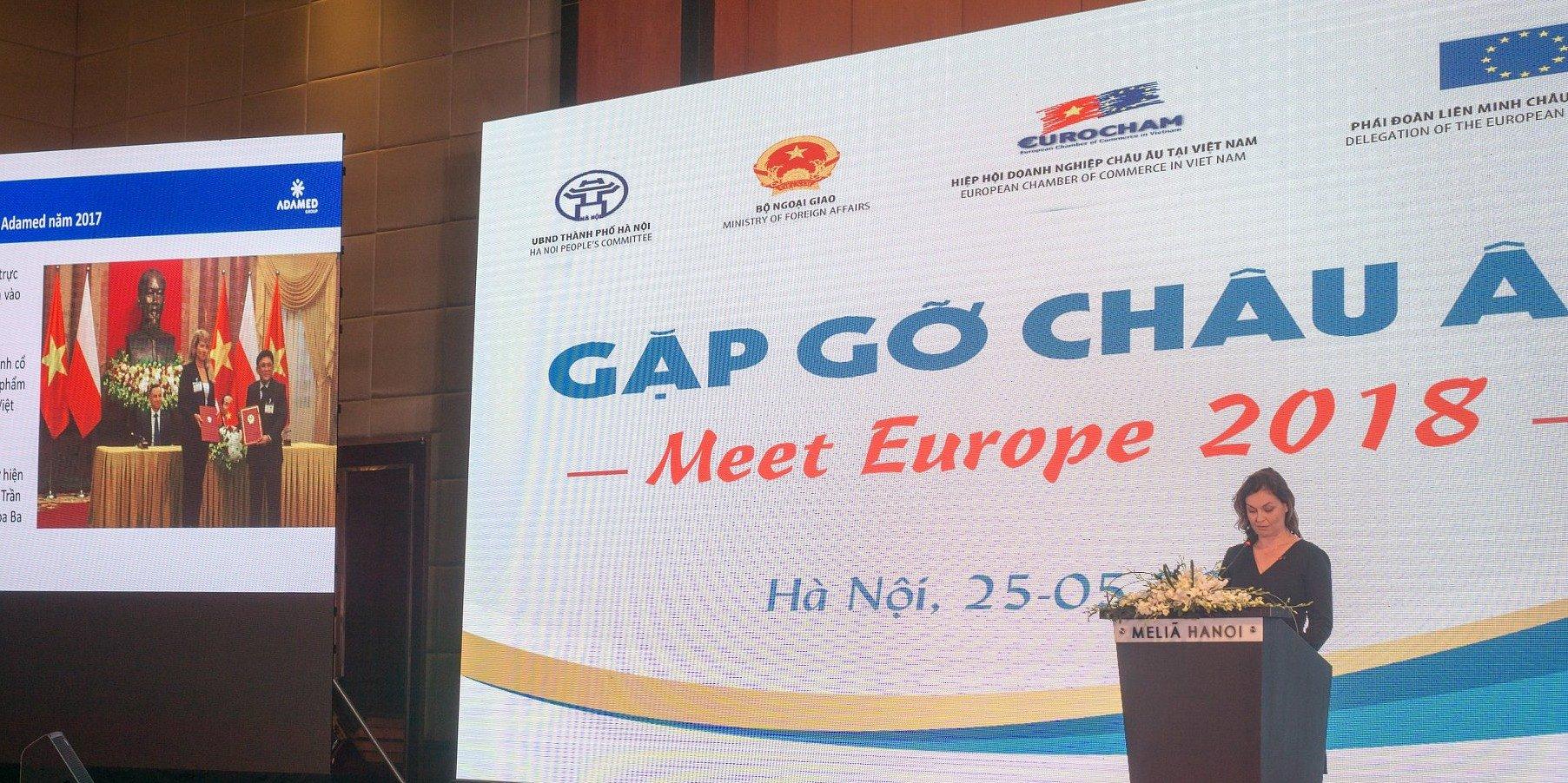 Grupa Adamed Na Konferencji Europejskiej Izby Handlowej W Wietnamie