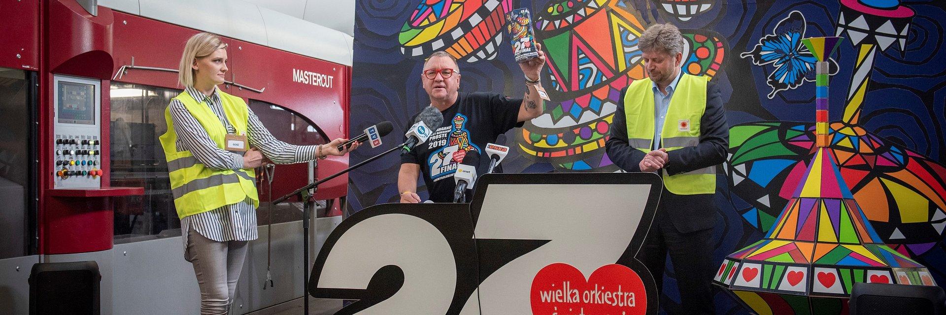 Stora Enso wyprodukuje 190 000 tekturowych skarbonek dla wolontariuszy WOŚP