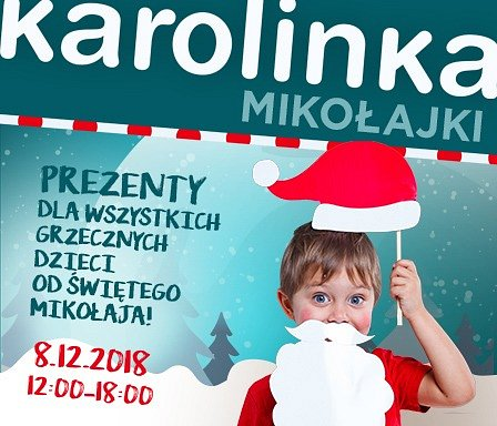 Mikołaj jest już w drodze do Karolinki!