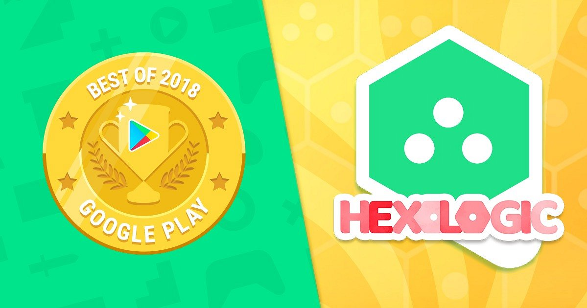 Hexologic grabs 'Best Of 2018' Awards from Google Play in 27 countries!