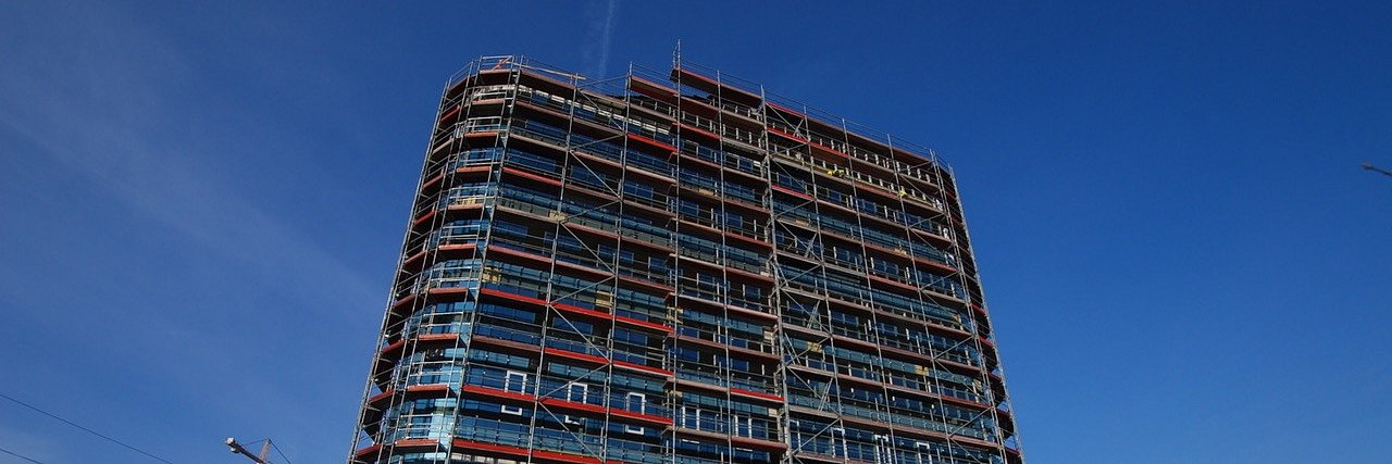 Postęp prac na budowie SQ Business Center Wrocław