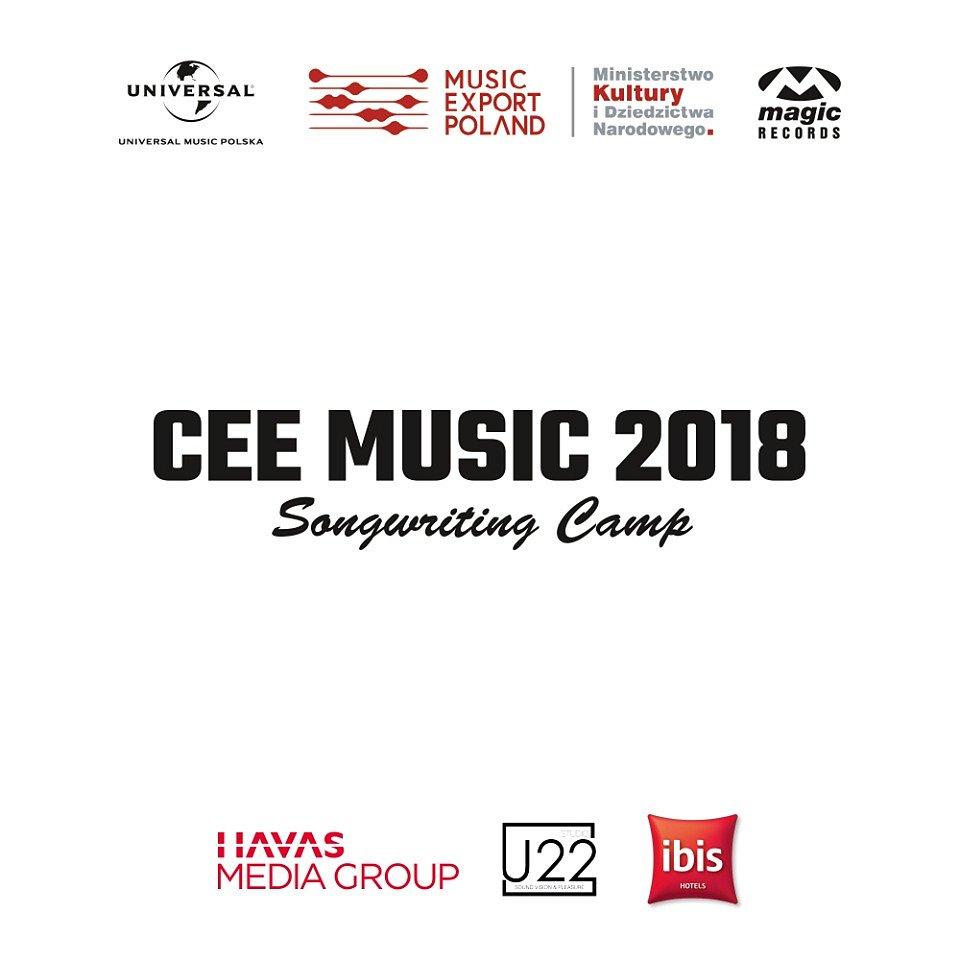 CEE Music Songwriting Camp po raz trzeci w Warszawie