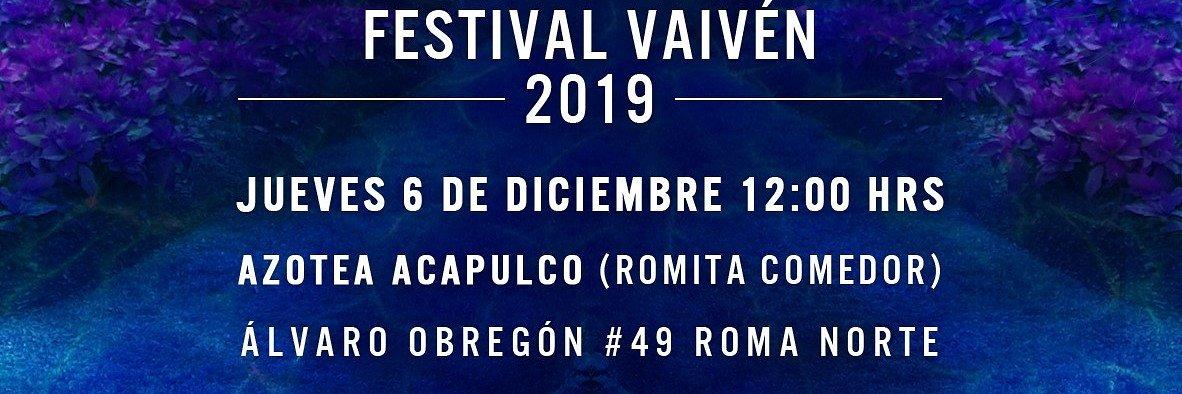 REVELACIÓN DE CARTEL FESTIVAL VAIVÉN 2019