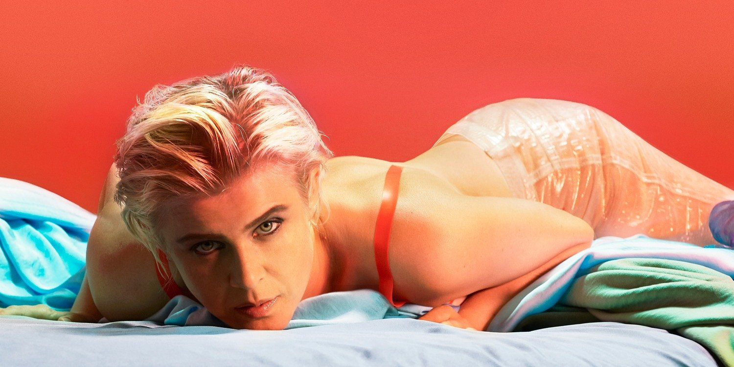 "Robyn z klipem do ""Honey"" i coverem Wham!"