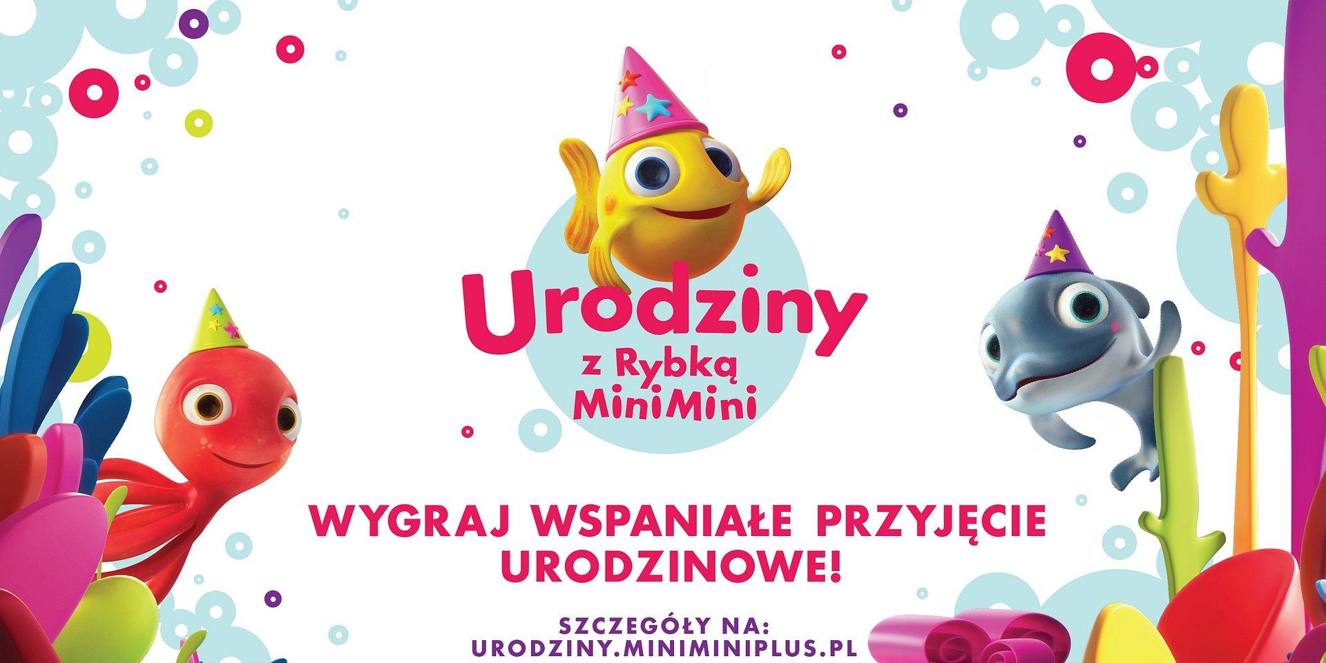 Wspólnie świętujmy 15 urodziny Rybki MiniMini!