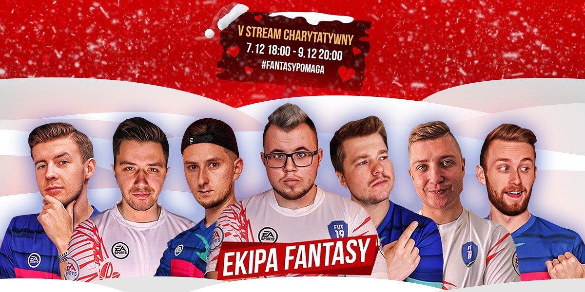 Ekipa Fantasy daje dobry przykład i bierze udział w charytatywnym streamie!