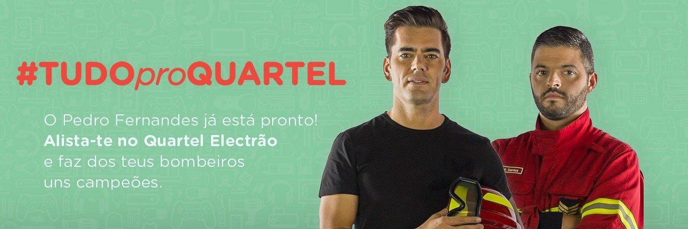 Pedro Fernandes leva #TUDOproQUARTEL com a Rede Electrão
