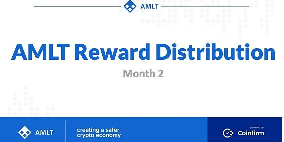 News: AMLT Token Reward Distribution