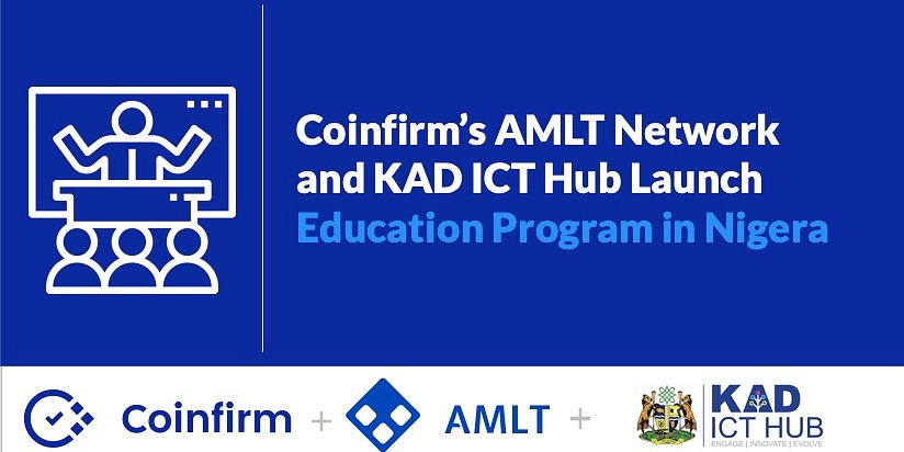 Coinfirm's AMLT Network and KAD ICT Hub Launch Education Program