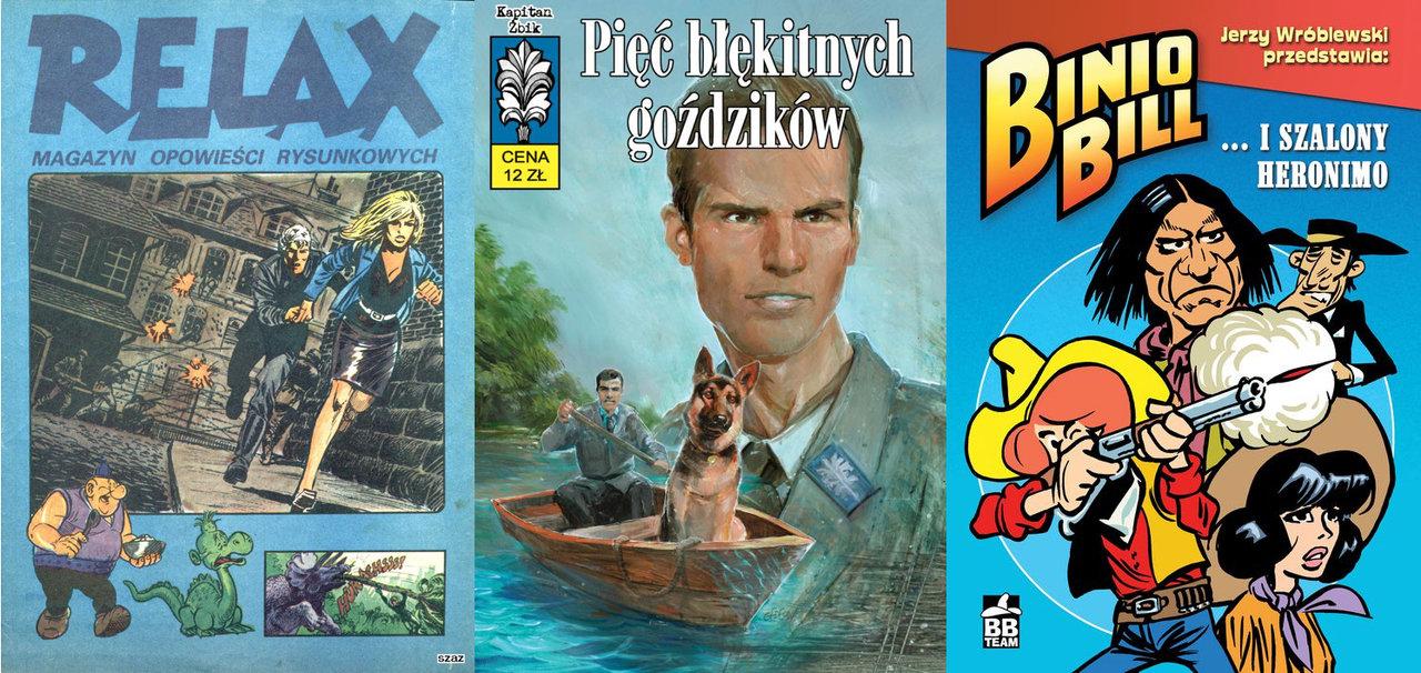 Komiksy PRL, które kupisz tylko na Allegro